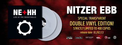 NITZER EBB + HH Live LP Vinyl Box limited