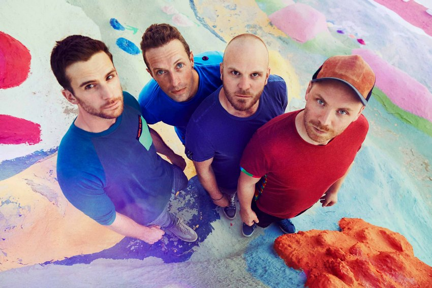 Coldplay Band - Promotion-Foto: James Marcus Haney