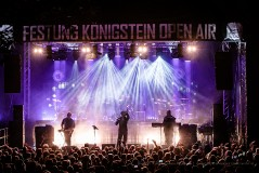Festung Königstein Open Air - Project Pitchfork feat. Solar Fake - Tag 1