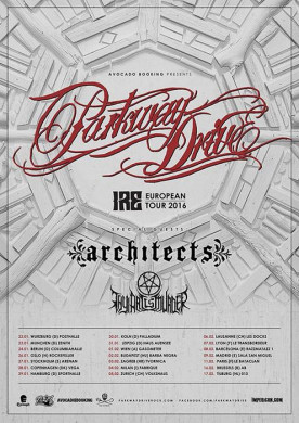 PARKWAY DRIVE - Ire -Europatour 2016
