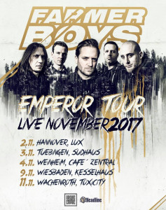 Farmer Boys Emperor Tour 2017