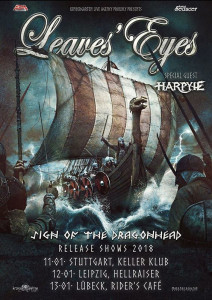 Leaves Eyes Sign Of The Dragonheads Releasekonzerte 2018