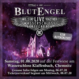 Blutengel und VNV NATION exklusives Klaffenbach Open Air 2020