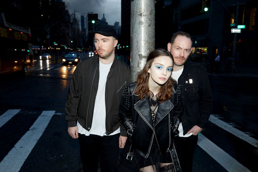CHVRCHES Fotocedits: Danny Clinch UniversalMusic 2018