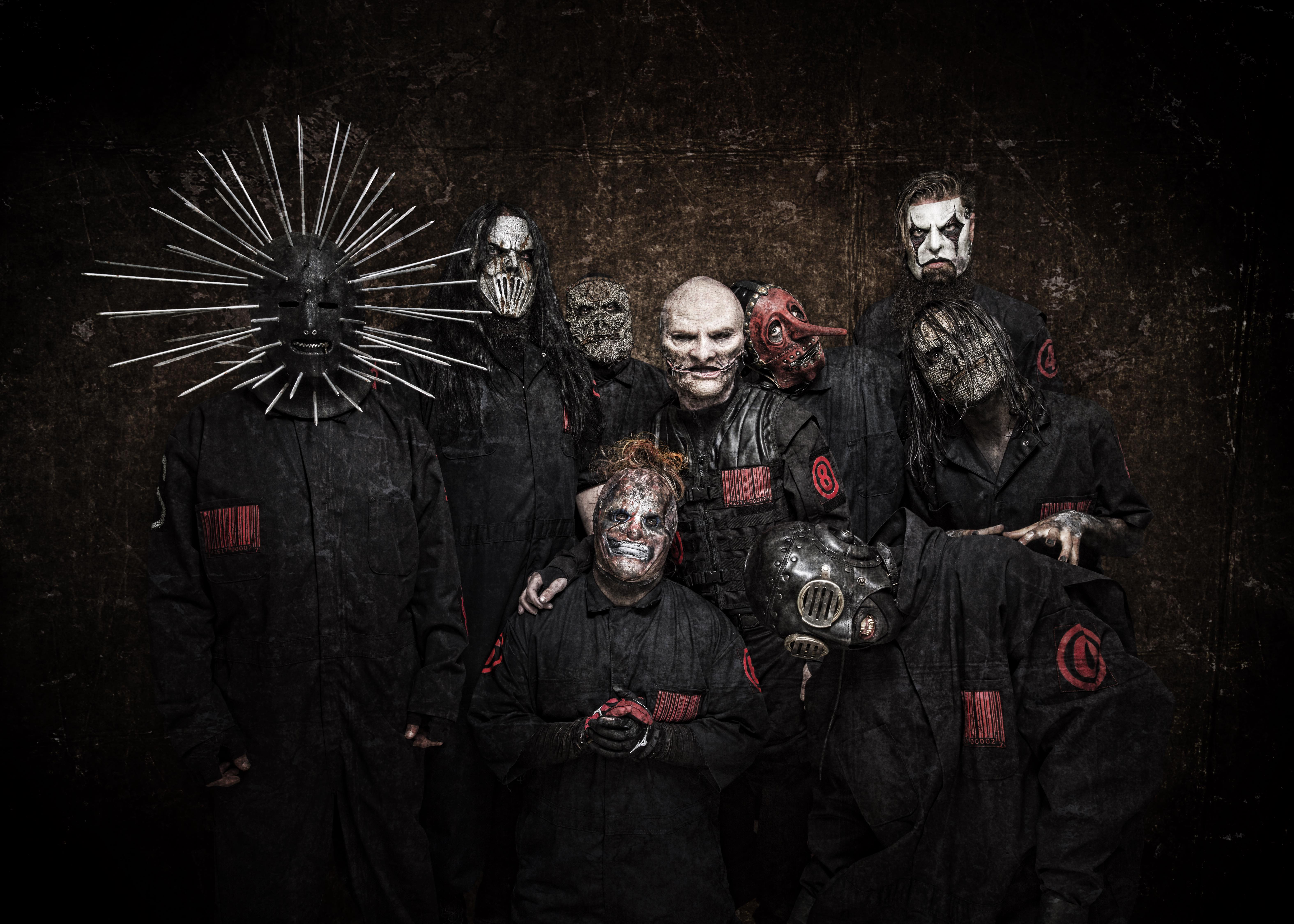 Copyright Slipknot 2018  Photocredits: Paul Harries