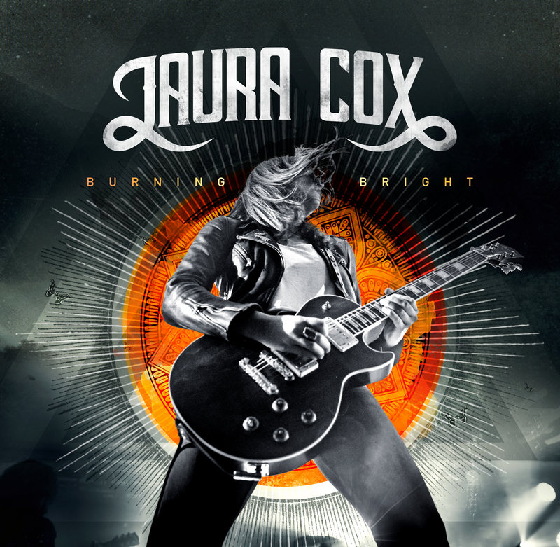 "Laura Cox - neues Album ""BURNING BRIGHT"" und Tour 2019"