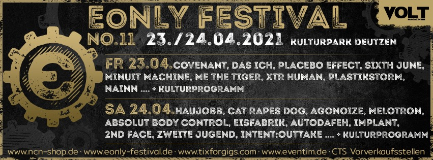 11. E-Only Festival Leipzig - 23. und 24.04.2021