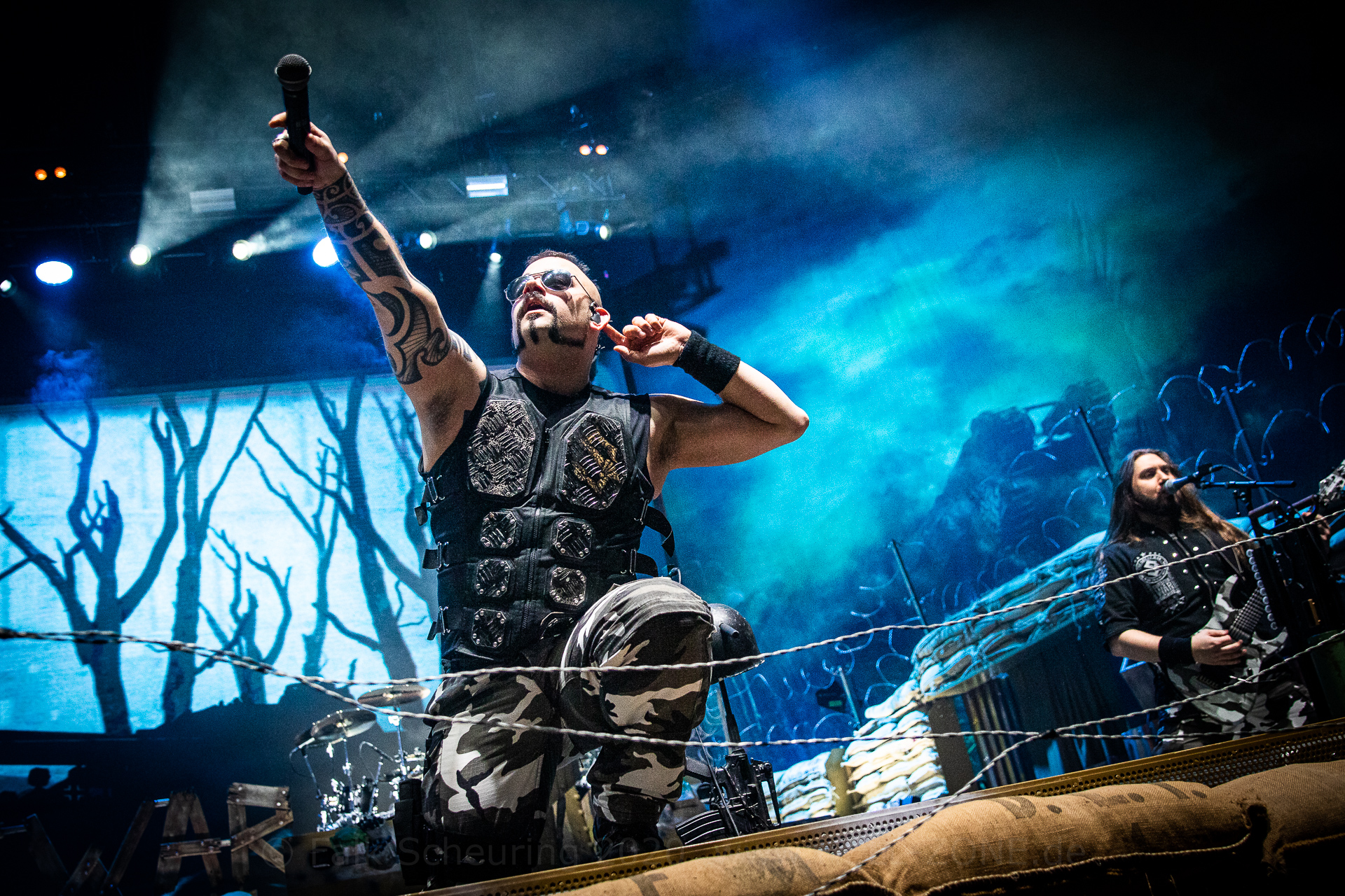 SABATON - The Great Tour 2020 live in Leipzig - Fotocredit Falk Scheuring