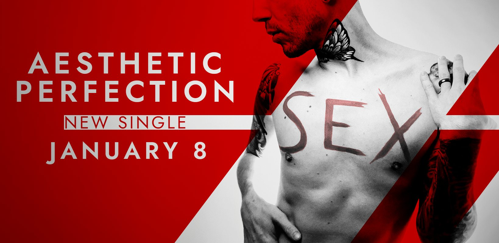 AESTHETIC PERFECTION - erste Single 2021: SEX