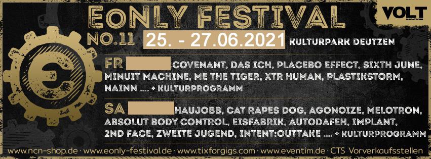 11. E-Only Festival Leipzig - 25. bis 27.06.2021