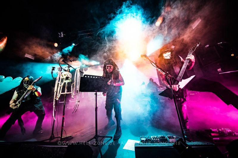 MINISTRY live in der lautesten Sauna Leipzigs - 08.08.2018